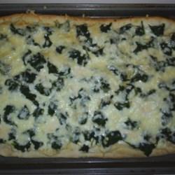 Spinach alferdo Pizza