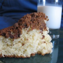 Quick Coffee Cake Recipe - This coffee cake is wonderful, the cake itself it moist and delicious while the topping is slightly crunchy and sweeter. Together, they make a delightful combination that you will surely enjoy!