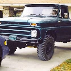 My 65' Chevrolet Truck