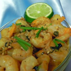 Tequila Shrimp Recipe - Jumbo shrimp sauteed in garlic, cilantro, and tequila Great over pasta, or enjoy with cocktail sauce.