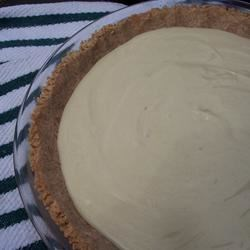 Key Lime Pie V Recipe - This terrific pie has three ingredients - egg yolks, lime juice, and sweetened condensed milk. Great topped with whipped topping or baked meringue. A baked pie shell may be used instead of graham cracker crust.