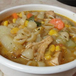 Quick Country Cupboard Soup Recipe - A family favorite recipe that is very quick, when time is short and leftovers are plenty.  This may also be made in a slow cooker. I like to add zucchini, peas, corn or any leftover 'soup friendly' veggie.