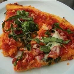 Sun-Dried Tomato and Arugula Pizza