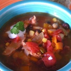 Southwestern Chicken Soup