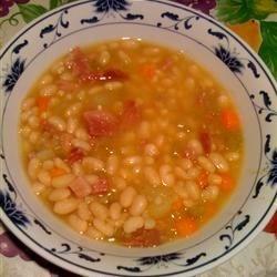 soup senate bean soup basic ham and bean soup recipe yummly basic ...
