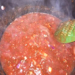 Sweet Basil Tomato Sauce Recipe - Sweet tomato and basil sauce for your favorite pasta dish can be made with just five simple ingredients.