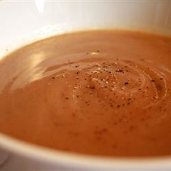 Simple Chicken Gravy Recipe - Sometimes simplest is best, and that just might be the case here, as flour and water combine with pan drippings from roast chicken to make a basic gravy.