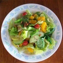 Romaine and Mandarin Orange Salad with Poppy Seed Dressing ...
