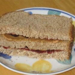 Toasted Peanut Butter Sandwich