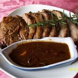 Roast Leg of Lamb with Rosemary Recipe and Video - This leg of lamb is marinated overnight with fresh rosemary, garlic, mustard, honey and lemon zest. Be prepared for many requests for seconds!