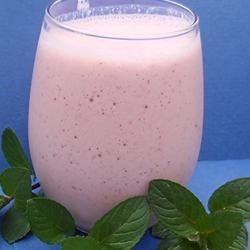 Strawberry Lassi Recipe - First popular in Punjab, India, and originally sometimes flavored with ground cumin, today's  version of lassi is a sweet, frothy blend of yogurt, milk, and fruit served well chilled.