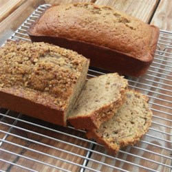 Mom's Spiced Zucchini Bread Recipe - Mom's zucchini bread, nicely spiced with cinnamon, cloves, and nutmeg, is a perfect way to start the day. They also make great food gifts.