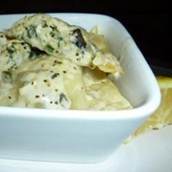 Lemon Chicken Ravioli