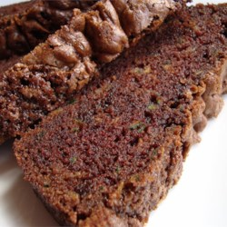 Chocolate Zucchini Bread I Recipe - Zucchini and a double dose of chocolate star in this moist and sweet quick bread.