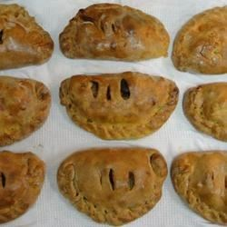 Vegetarian Pasties Recipe - Warm and delicious pastry pockets with a savory veggie filling. I came up with this recipe after I tasted pasties made with meat and wanted a vegetarian version.