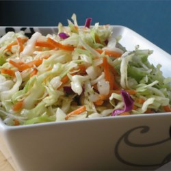 Amish Slaw Recipe - I live in a wonderful Amish community and the ladies here are wonderful cooks. This is a lovely cole slaw recipe for those who like slaw without mayonnaise.