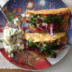 Grilled Fish Tacos with Chipotle-Lime Dressing Photos ...