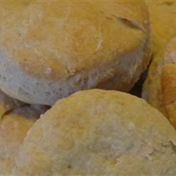 Baking Powder Biscuits II Recipe - This rolled-and-cut variation on golden biscuits calls for buttermilk.