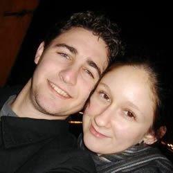My boyfriend and I in Italy