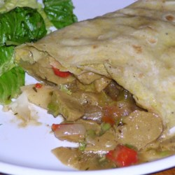 Roti  with Wheat Protein