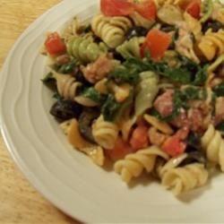 Rae's Spinachtacular Italian Pasta Salad