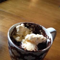 Microwave Chocolate Mug Cake Recipe - Make an individual-size dessert using this decadent recipe for microwave chocolate mug cake.