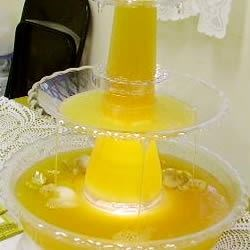 Golden Wedding Punch Recipe - A citrus and pineapple juice punch. This is decidedly different from your usual punch.
