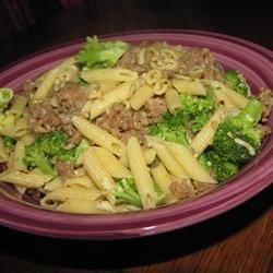Broccoli & Sausage Pasta