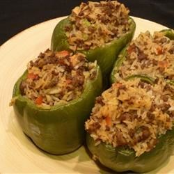 K & T Filz Beef Stuffed Green Peppers