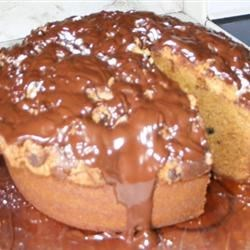 Peanut Butter Cake VI Recipe - Yummy peanut butter crumb cake with chocolate chips.