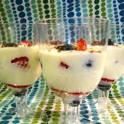 Swedish Cream with Summer Berries Photos - Allrecipes.com