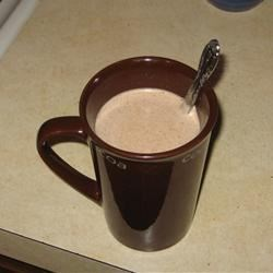 Peanut Buttercup Hot Chocolate Recipe - Hot chocolate mixed with peanut butter makes this yummy treat.