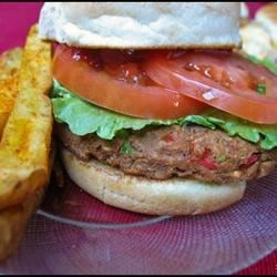 Tasty Tuna Burgers Recipe - These tuna burgers are so delicious. My husband is a very fussy eater, and he loves these. Enjoy!