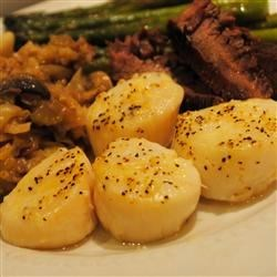 Amber's Devils on Horseback Recipe - A mouth watering and very easy baked scallop dinner.