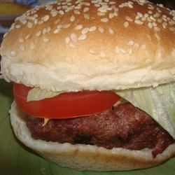 Venison Bacon Burgers Recipe - Crisp, crumbly bacon is mixed into seasoned ground venison to make the best burgers you've ever tasted!