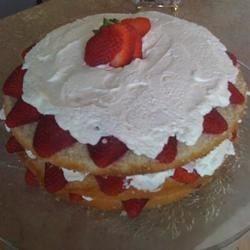 Triple delight strawberry shortcake
