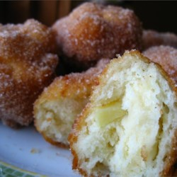 Mom's Apple Fritters Recipe - My mom made these for us after school in the fall with the apples we'd pick and buy from a fruit farm. They warm, crisp, and sweet, a perfect fall treat.