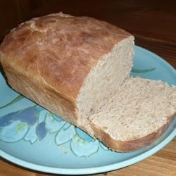 Vanilla Spice Bread Recipe - A slightly sweet loaf of bread with subtle flavors of vanilla, coriander, and cardamom is made with the dough cycle of a bread machine but baked in the oven. Try it to make a peanut butter-and-jelly sandwich.