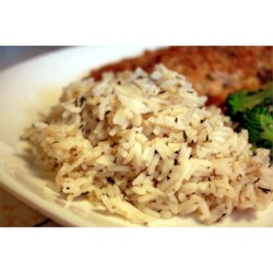 Rice with Herbes de Provence Recipe - A fragrant, yummy rice dish that's easy to make and a terrific companion for chicken and green beans.