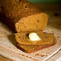 Sweet Potato Bread I Recipe - This will remind you of pumpkin bread, with its cinnamon, nutmeg and pecans.  The flavor does differ, though, so be sure to give this recipe a try.