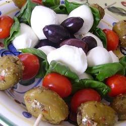 Olive Salad On A Stick