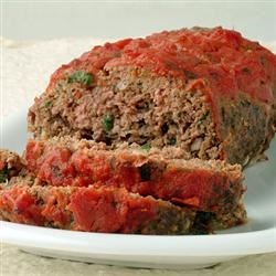 All Protein Meatloaf Recipe - This is a great alternative meatloaf for people on high-protein low-carb diets. It tastes delicious, and one serving keeps you full for hours! Great with a salad!