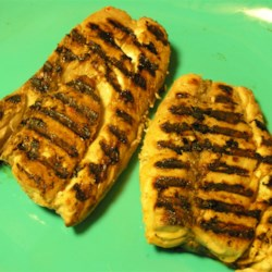 Super Summer Grilled Bluefish Recipe - Have a ton of bluefish and don't know what to do with it? Give this a try! Bluefish has a reputation for being a very strong fish. This super citrus marinade gives this grilled fish a bright and delicious flavor.  I just made some (which I caught and froze) and it came out superb.