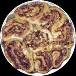 Buttermilk Walnut Cinnamon Rolls