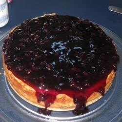 Very, Very, Very Good Cheesecake Recipe - The absence of a crust makes this pure cheesecake indulgence.