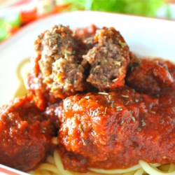 Meatball Nirvana Recipe and Video - Parmesan cheese, Worcestershire sauce, and red pepper flakes combine to make the perfect meatball.