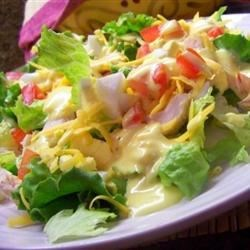 Honey Mustard Dressing II Recipe - It's amazing how only four ingredients can taste so sensational -  honey, mayonnaise, lemon juice and mustard. Whip it up just before serving, and try it with chicken salad.