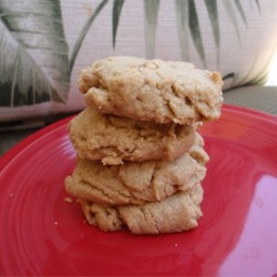 Sugar-Free Peanut Butter Cookies Recipe - My Dad is diabetic, but loves peanut butter cookies. I was playing around with some recipes to make a sugar-free version. This is what I came up with.