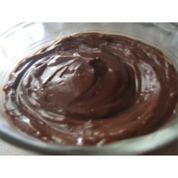 Hasty Chocolate Pudding Recipe - This pudding whips up in no time in your microwave... great for when you're craving a quick chocolate fix!  Stir in some chopped bananas before chilling for a nutrition boost.
