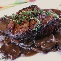 Bordelaise Sauce with Mushrooms